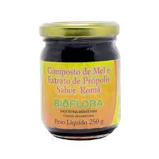 Mel com Propolis e Roma Bioflora 250g
