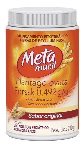 Metamucil Frasco Original - 210g