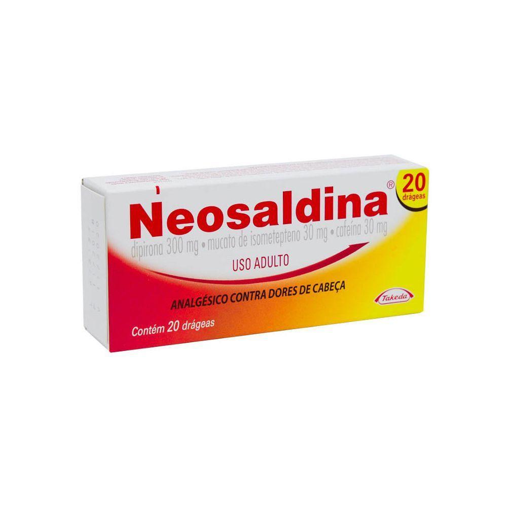 Neosaldina Takeda 20 Drágeas