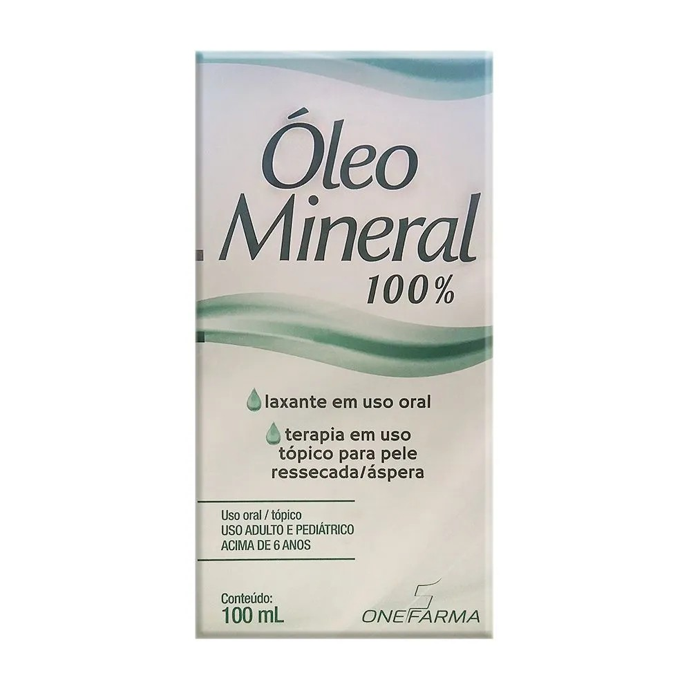 Óleo Mineral Cimed 100ml