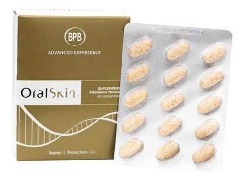 Oral Skin Com 30 Comprimidos + 15 Comprimidos Grátis Bedalm Fharma