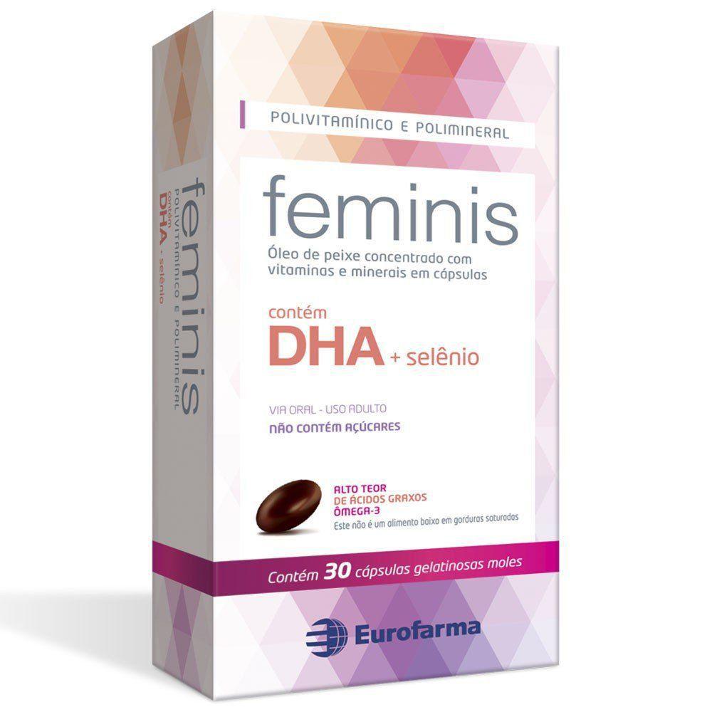 Polivitamínico Feminis  30 Cápsulas