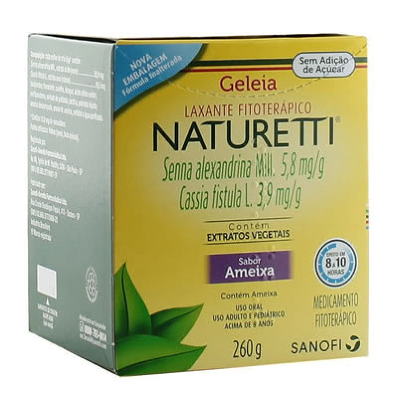 Regulador Intestinal Naturetti Geleia Sanofi