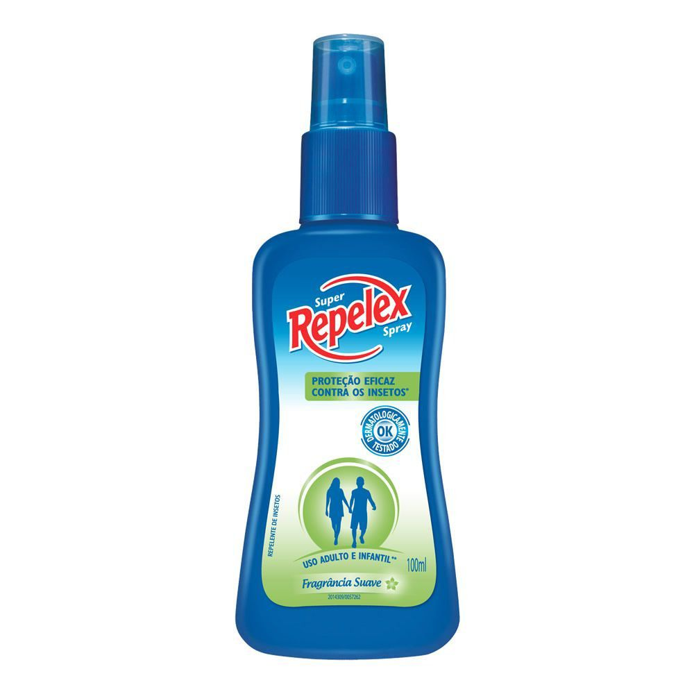 Repelente Spray Repelex Family Care 100 ml