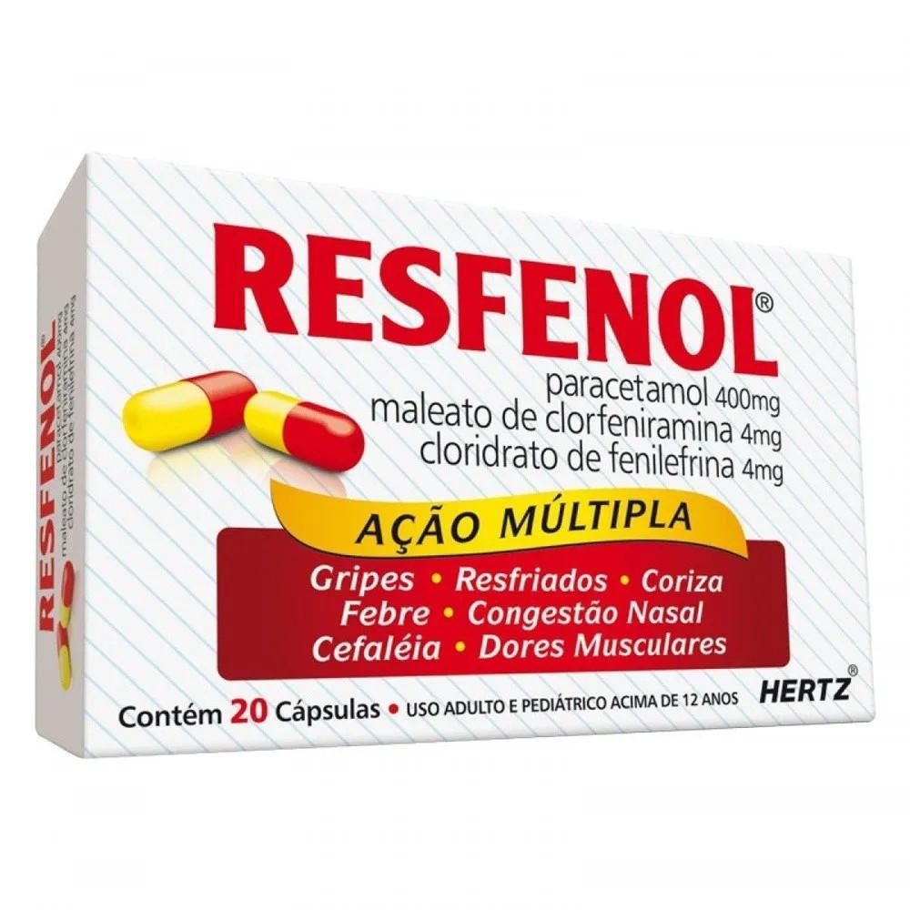 Resfenol 20 Cápsulas