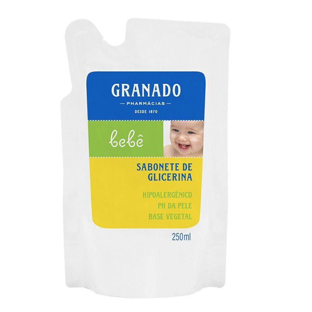 Sabonete Granado 250 ml Glicerina Refil