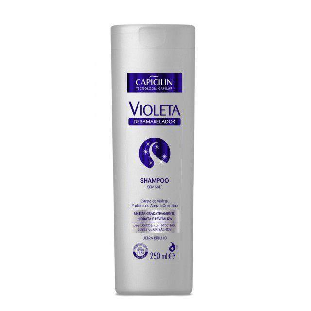 Shampoo Capicilin Violeta Desamarelador 250ml