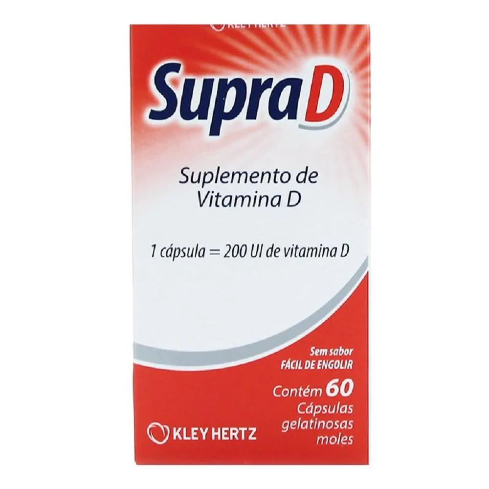 Supra D 60 Cápsulas