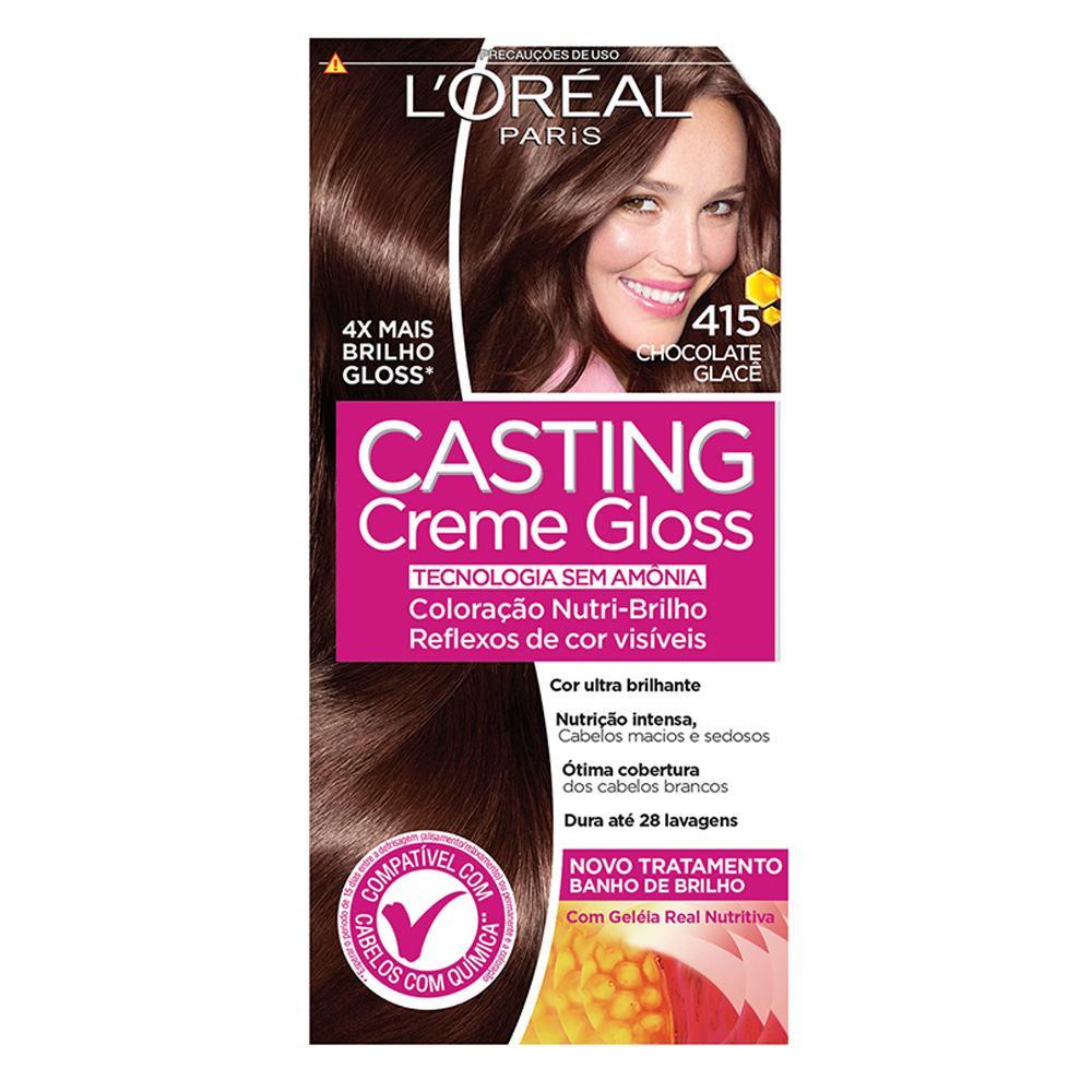 Tintura Semi-Permanente Casting Creme Gloss Cor 535 Chocolate