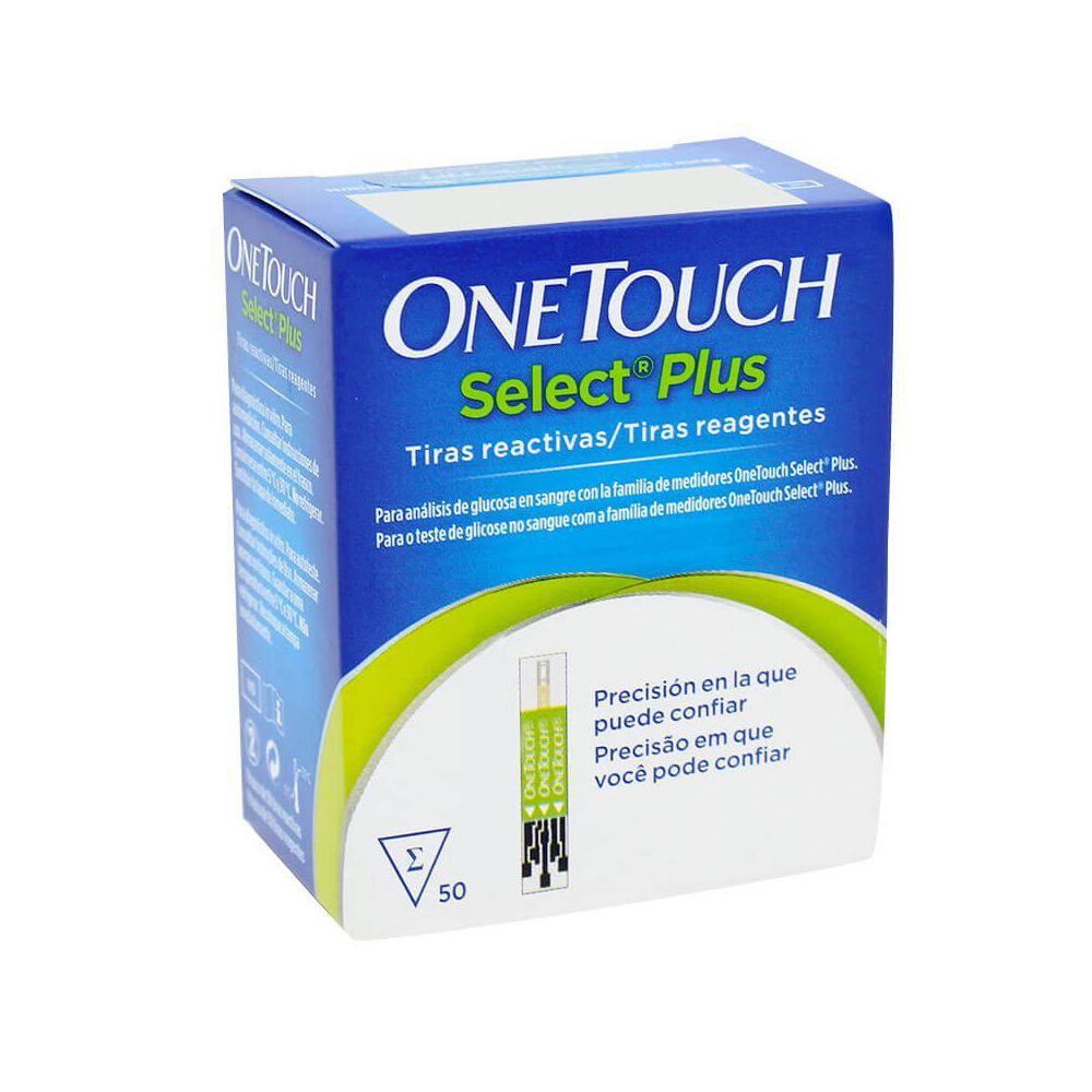Tiras Reagentes OneTouch Select 50 Unidades