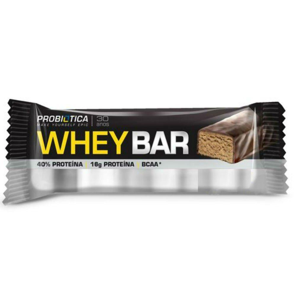 Whey Barra 40g Probiotica Chocolate