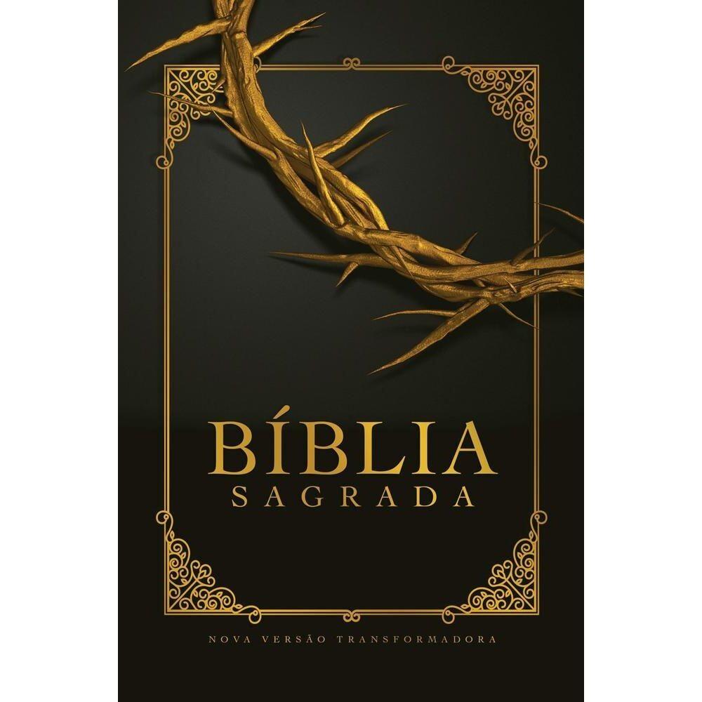 BÍBLIA NVT LG CAPA SOFT TOUCH - COROA DE ESPINHOS