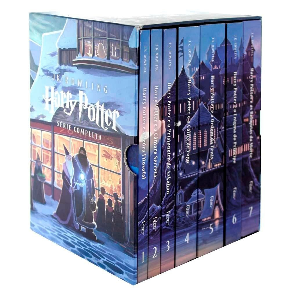 BOX HARRY POTTER  COM 7 LIVROS