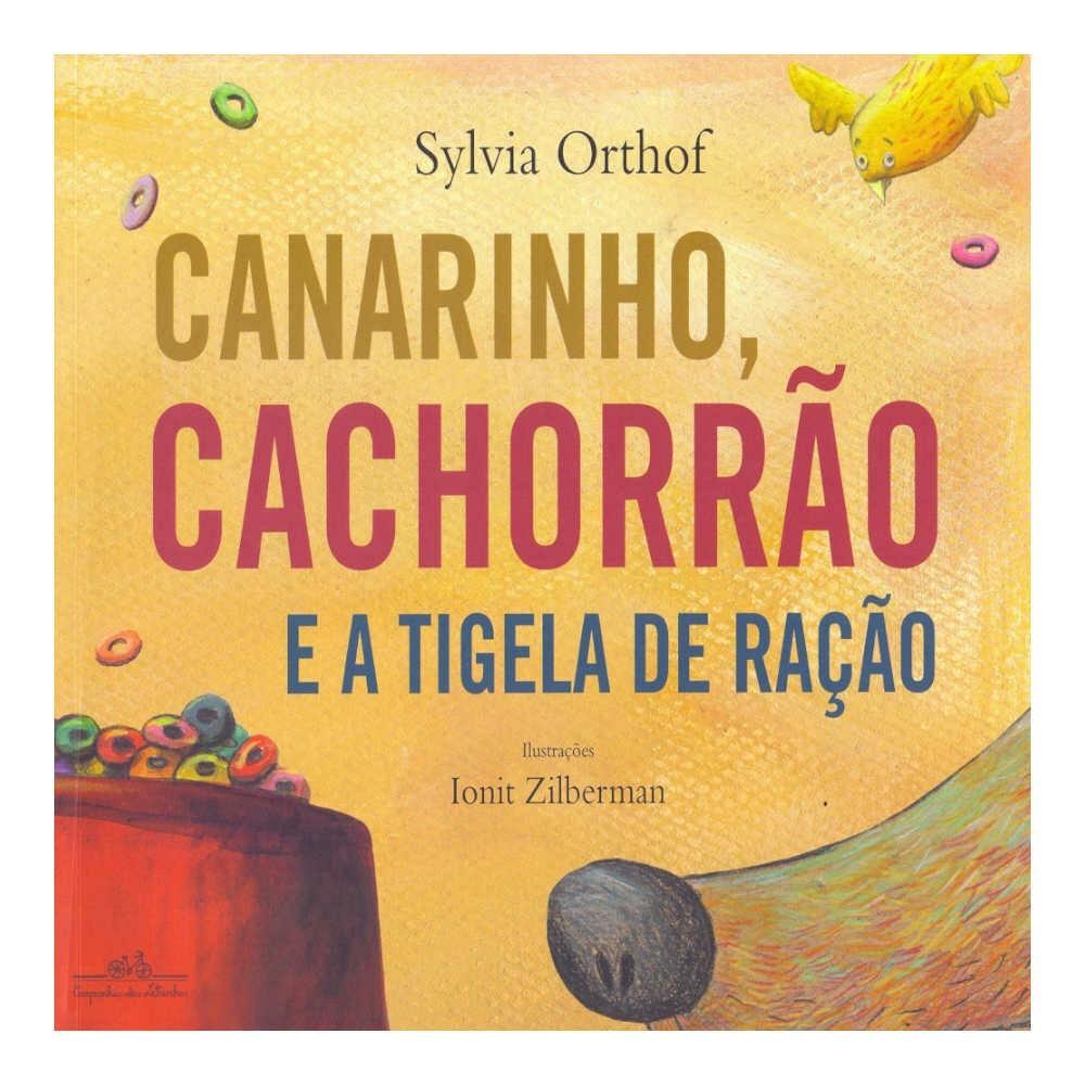 CANARINHO, CACHORRÃO E A TIGELA DE RAÇÃO