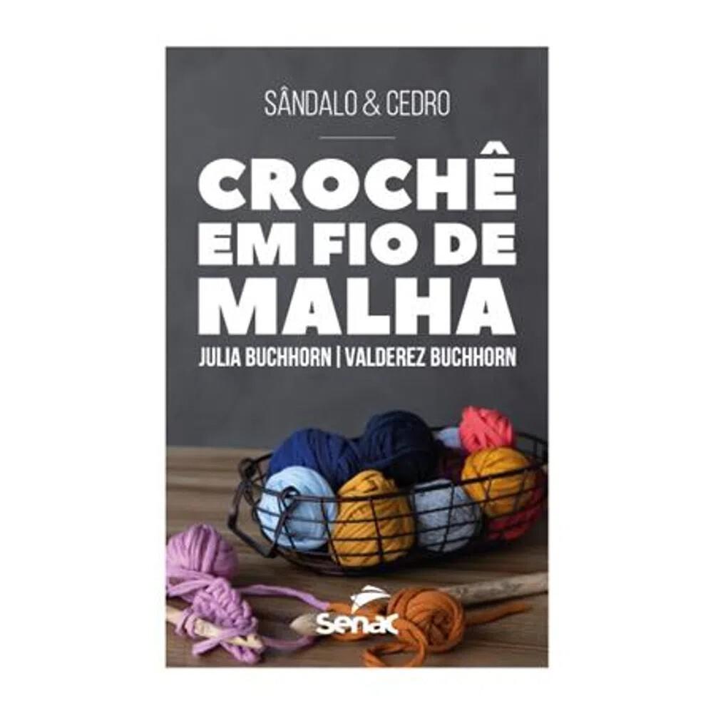 CROCHE EM FIO DE MALHA
