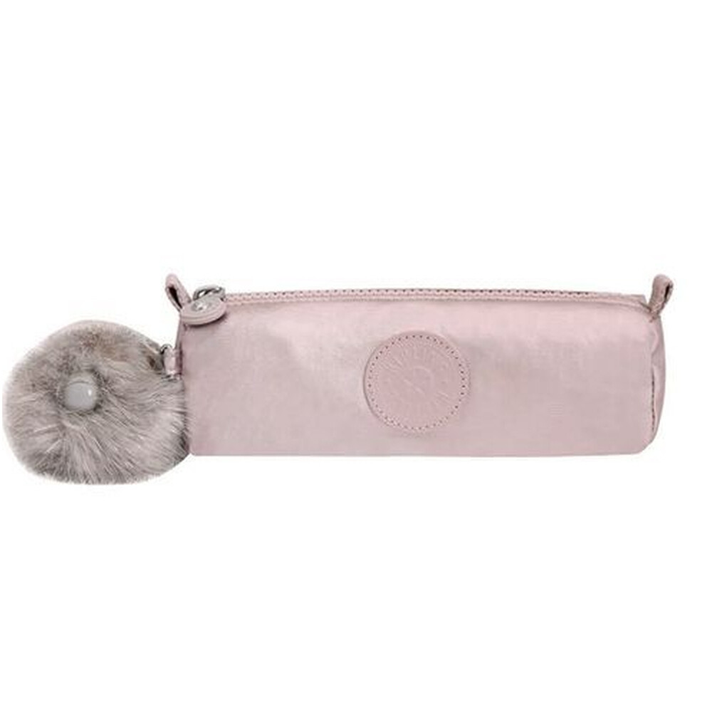 ESTOJO KIPLING FREEDOM - METALLIC ROSE