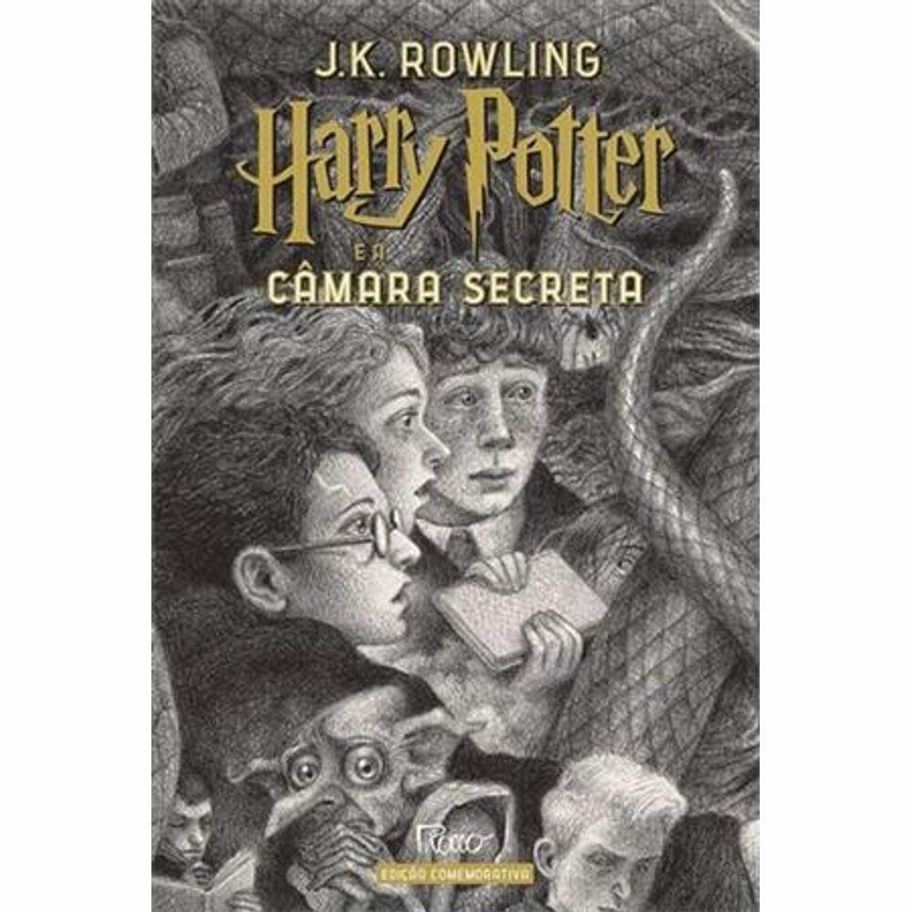 HARRY POTTER E A CÂMARA SECRETA (CAPA DURA) - EDIÇÃO COMEMORATIVA 20 ANOS
