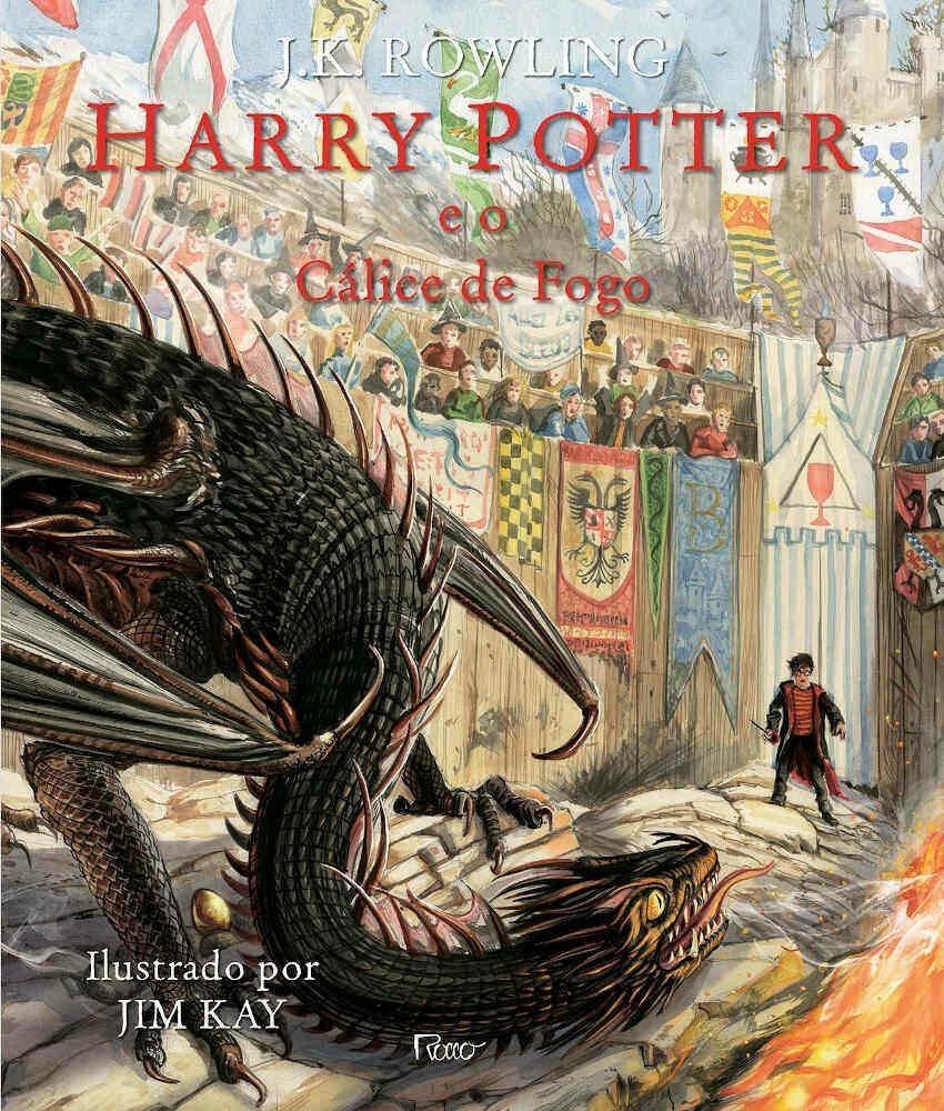 HARRY POTTER E O CÁLICE DE FOGO - EDICÃO ILUSTRADA
