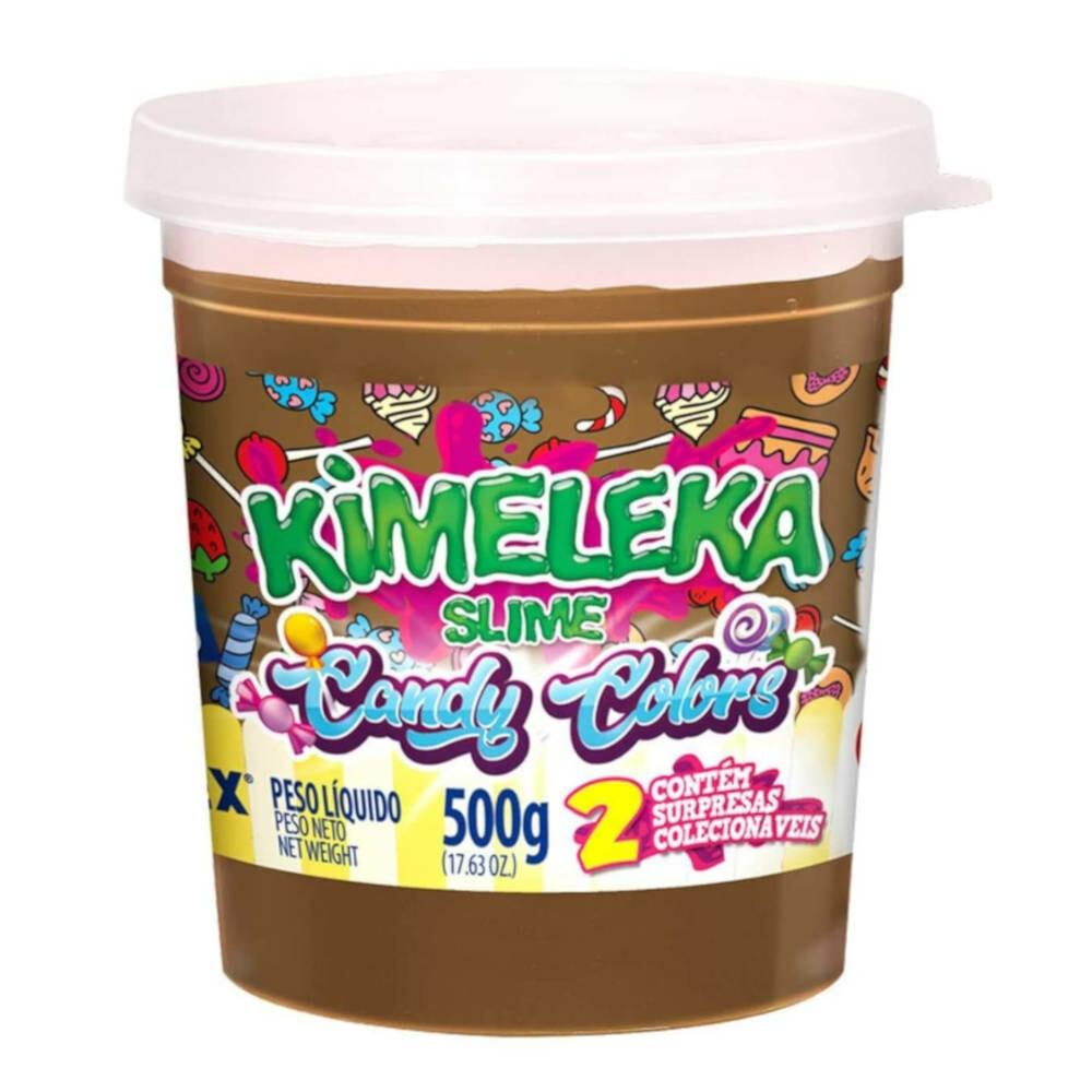KIMELEKA SLIME CANDY COLOR - CHOCOLATE