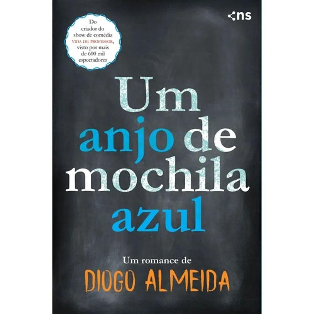 UM ANJO DE MOCHILA AZUL