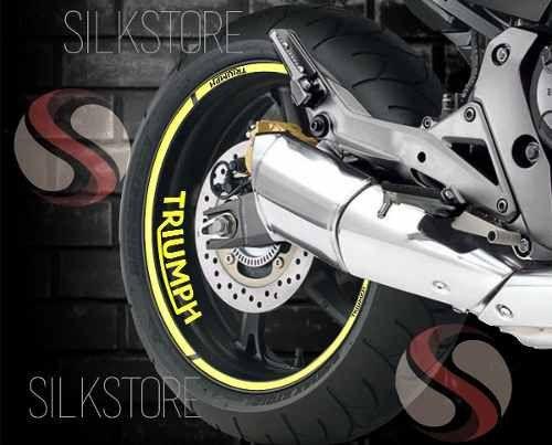23001ce07c0 Adesivo Friso Refletivo Moto Triumph Street Triple Rs Amarelo Não Desbota