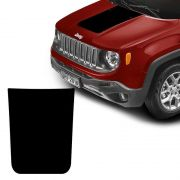 Adesivo Capô Jeep Renegade 2015 16 17 18 19 Acessório Preto