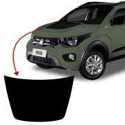 Adesivo Do Capô Fiat Mobi Cross Way 2019/2020 Protetor Preto