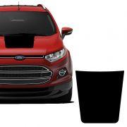 Adesivo Do Capô Ford Ecosport 2013/20 Acessório Preto Fosco