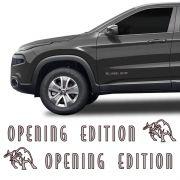 Adesivo Lateral Opening Edition Toro 2017/ Emblema Da Porta