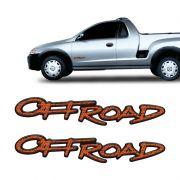 Adesivos Off Road Montana 2004/2005 Emblema Lateral Resinado