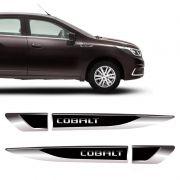 Aplique Lateral Cobalt 2016/2020 Emblema Para-Lama Resinado