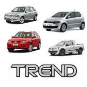 Emblema Adesivo Trend Gol, Parati, Saveiro e Fox G4 Resinado