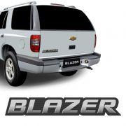 Emblema Blazer 2009 2010 2011 Adesivo Traseiro Escovado