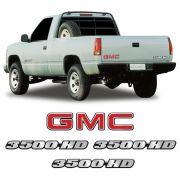 Emblemas Gmc 3500-HD Adesivos Laterais E Traseiros Resinados