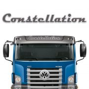 Faixa Constellation Adesivo Quebra Sol Caminhão Volkswagen