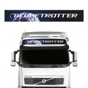 Faixa Globetrotter Volvo FH NH FM Adesivo Quebra-Sol Teto