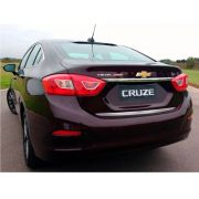 Friso do Porta-malas Escovado Resinado Cruze Sedan 2017