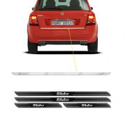 Friso Porta-Malas Fiat Stilo 2003/11 + Kit Soleira Protetora