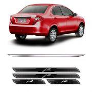 Friso Porta-Mala Jac Motors J3 Sedan + Kit Soleira Protetora