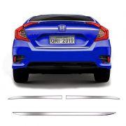 Frisos Porta-Malas Honda Civic G10 Superior Inferior Cromado