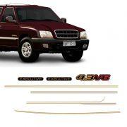Kit Adesivo Faixa Lateral Blazer 1999/2000 Executive 4.3V6