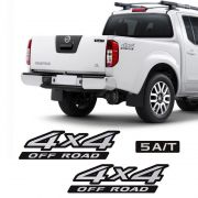 Kit Adesivos Nissan Frontier 4x4 Off Road 5a/t Mod. Original