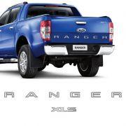 Kit Adesivos Ranger Xls Ford Ranger 2013/2016 Faixa Prata