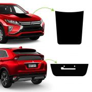 Kit Aplique Do Capô Eclipse Cross + Adesivo Fundo De Placa