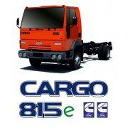 Kit Com 4 Adesivos Caminhão Cargo 815e Cummins Ford Resinado