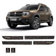 Kit Completo De Adesivos Faixas Laterais Duster Dakar Spirit