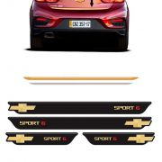 Kit Cruze Sport6 Soleira Black Over e Friso Gold 2017/2018