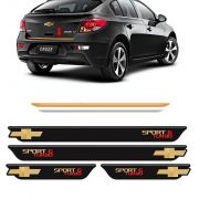 Kit Cruze Sport6 Turbo Soleira Black Over E Friso Gold 12/16