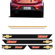 Kit Cruze Turbo Soleira Black Over e Friso Gold 2017/2018