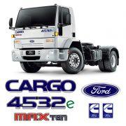 Kit Emblemas Cargo 4532e Max Ton Cummins Caminhão Ford